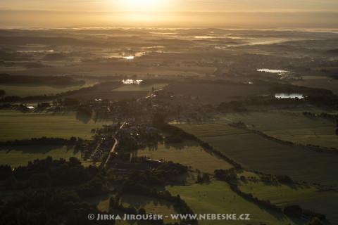 Rožmitál pod Třemšínem – svítání /J57