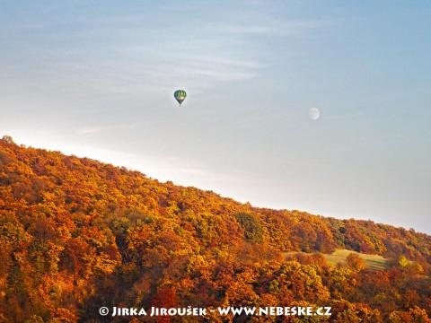 Balón nad Českým krasem /J52