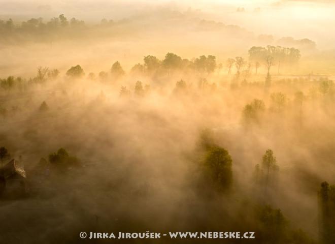 Úsvit na Sedlčansku – Kňovice /J2