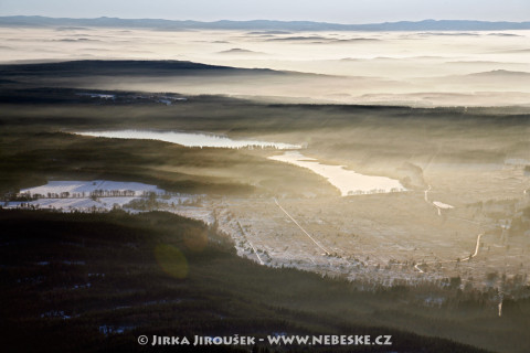 Padrťké rybníky s dohledem Šumavy /J54