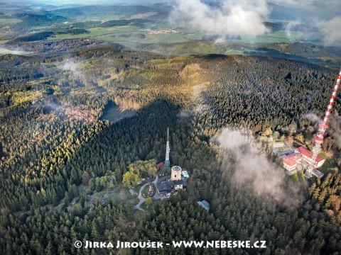 Kleť – vrchol Blanského lesa /J130