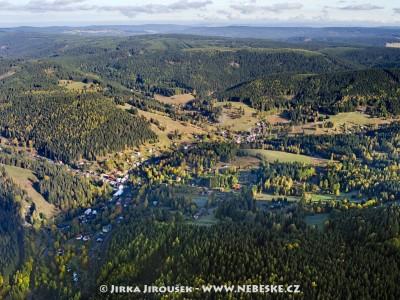 Nové Hamry – pohled od Německa /J142