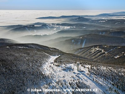 Klínovec v zimě /J148
