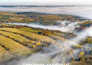 Pohled na Tisou směr  Petrovice v Krušných horách /J153
