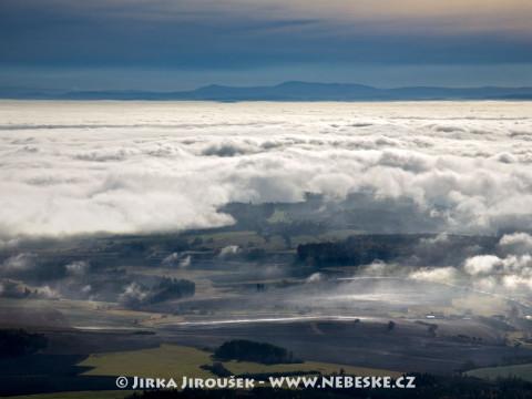 Brdy, mlha, Šumava /J279