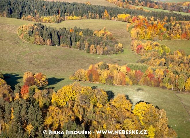 Šumavský podzim u Lipna /J446
