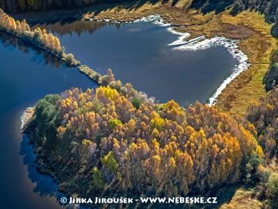 Zátoka na Lipně pod Novou Pecí /J739