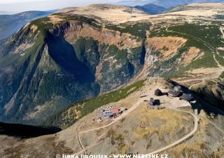 Vrchol Sněžky, Obří důl, Luční hora, Studniční hora, Luční bouda /J535