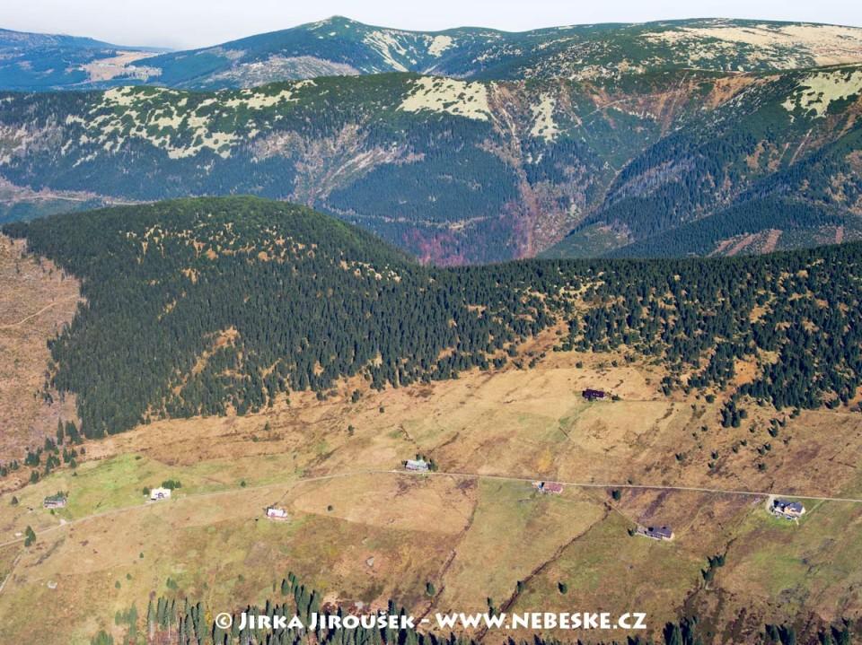 Klínové boudy a Kozí hřbety a Malý Šišák /J555