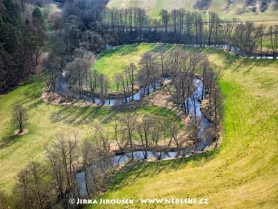 Meandry Hejlovky (Želivky) u Pobistrýc /J241
