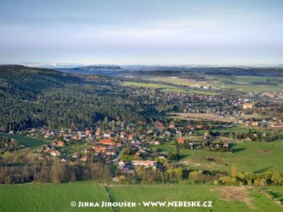 Mníšek pod Brdy od Kytína /J205