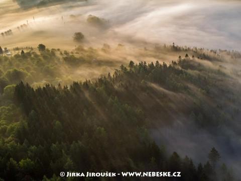 Mlhy nad Svatou Horou /J860
