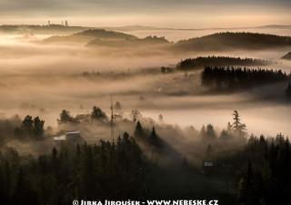 Mlha nad Padákem /J871
