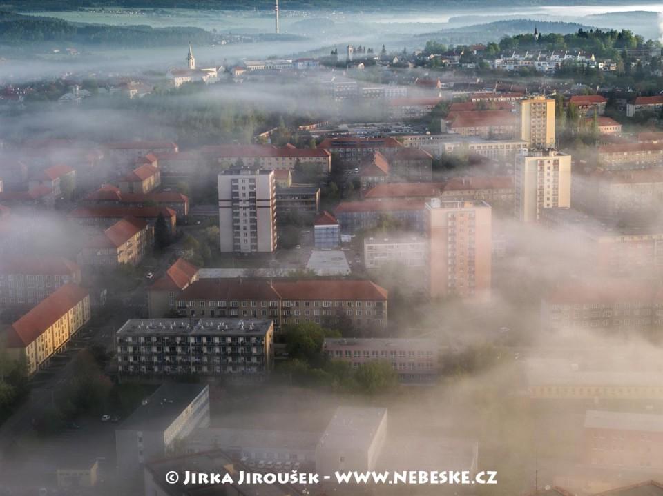 Sídliště a Březové Hory /J875