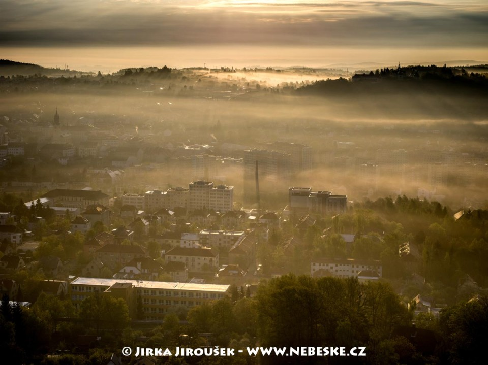 Ul. Pod Šachtami a Svatá Hora /J882