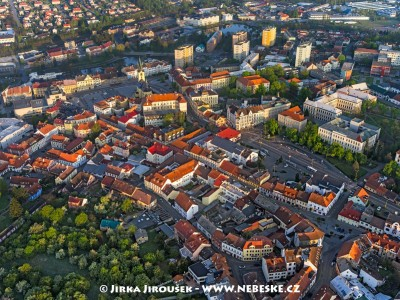 Jiráskovy sady a Náměstí T.G.Masaryka /J893