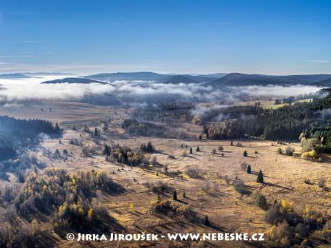 Borová Lada – Novosvětská a Chalupská slať od Nových Hutí /J976