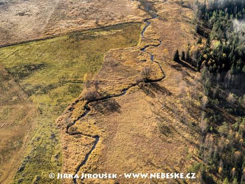 Vydří potok u Chalupské slaťe /J977