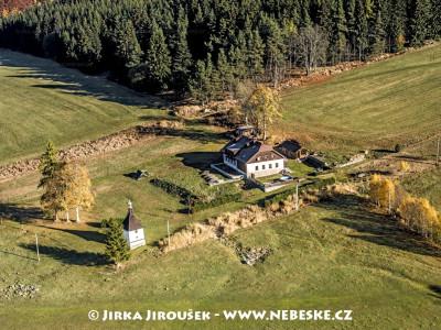 Šindlov a kaple sv. Anny /J982