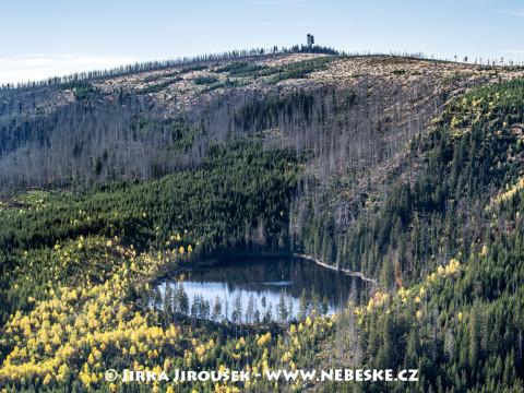 Prášilské jezero a Poledník /J999