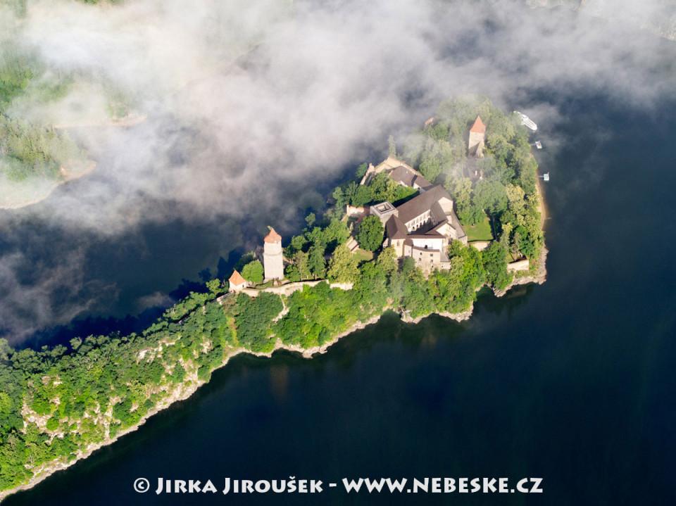 Soutok Otavy a Vltavy, hrad Zvíkov /J708