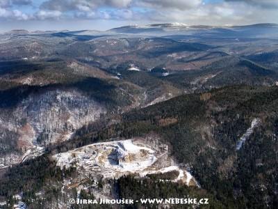 Jizerské hory od Liberce /J411