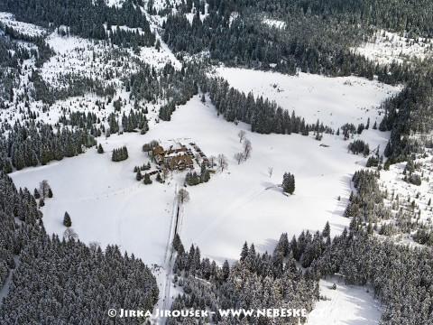Lovecký zámeček Nová Louka /J419