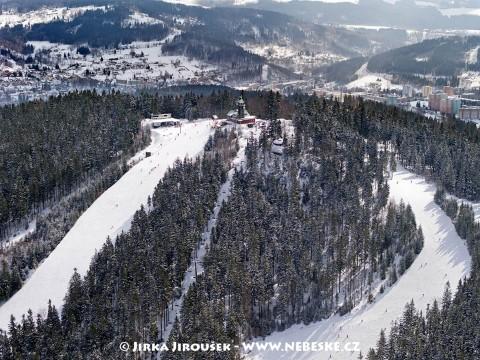 Tanvaldský Špičák – vrchol /J427