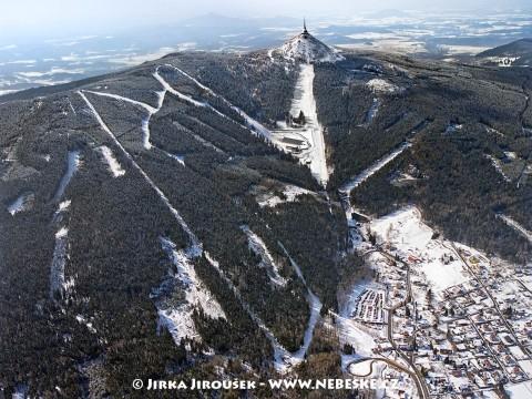 Ještěd – skiareál /J437