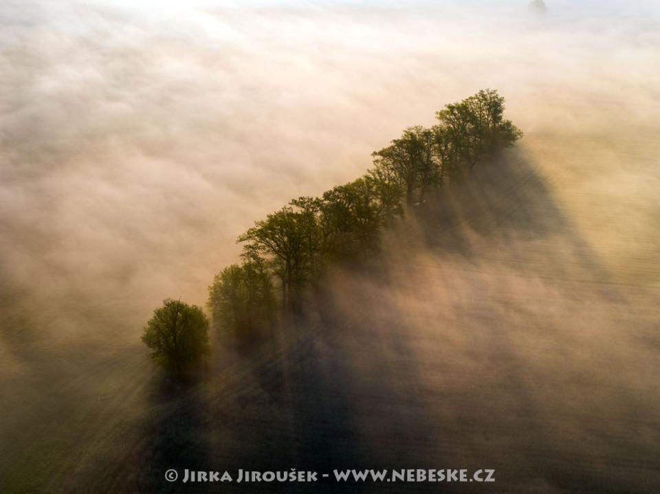 Mlhy na Sedlčansku /J626