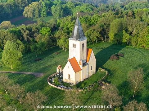 Kostel Chvojen /J637