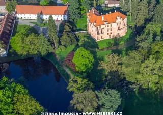 Vrchotovy Janovice – zámek se  zahradou /J653