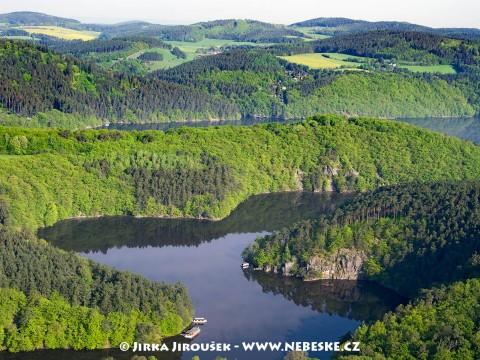 Potok Mastník se vlévá do Vltavy