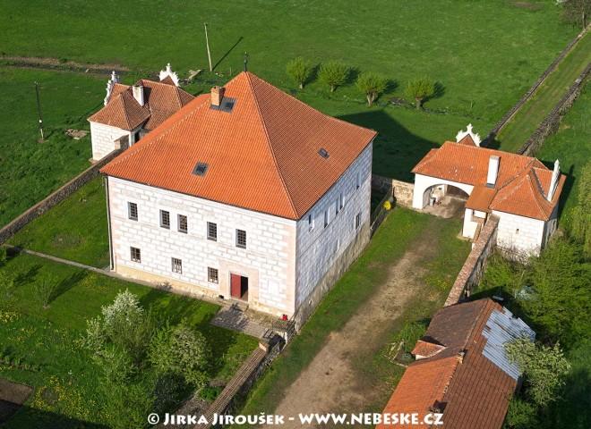 Vodní tvrz Křepenice Jakuba Krčína z Jelčan /J665