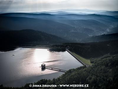 Josefův Důl a vodní nádrž /J345