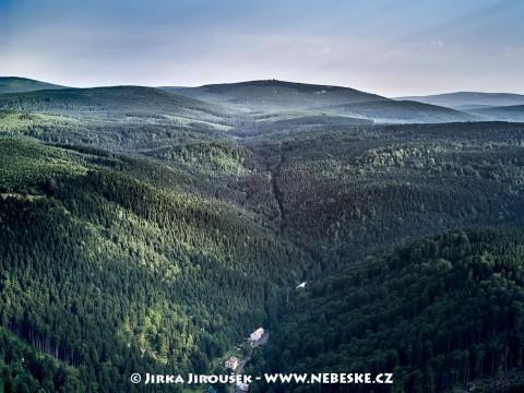Údolí Bílé Desné, Jizera v pozadí /J353