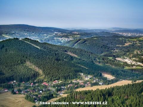 Albrechtice v Jizerských horách a Špičák /J354
