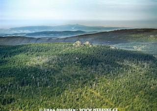 Jizera – skalky na vrcholu /J371