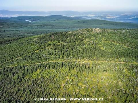 Holubník, vodní nádrž Bedřichov v pozadí /J382