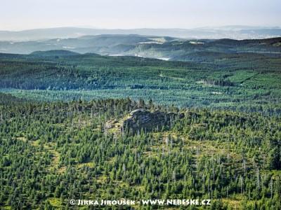 Ptačí kupy a vodní nádrž Josefův Důl /J385