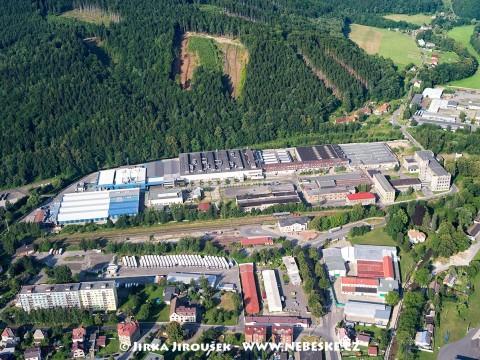 Andělská Hora – textilní továrna /J394