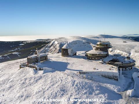 Sněžka v zimě /J609