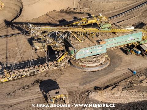 Korečkové rýpadlo PRODECO, důl ČSA /J185