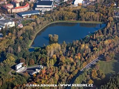 Nový rybník, letní kino /J924