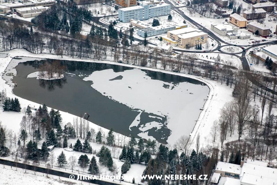 Nový rybník v zimě /J933