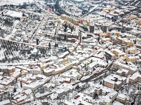 Zima v Příbrami /J940