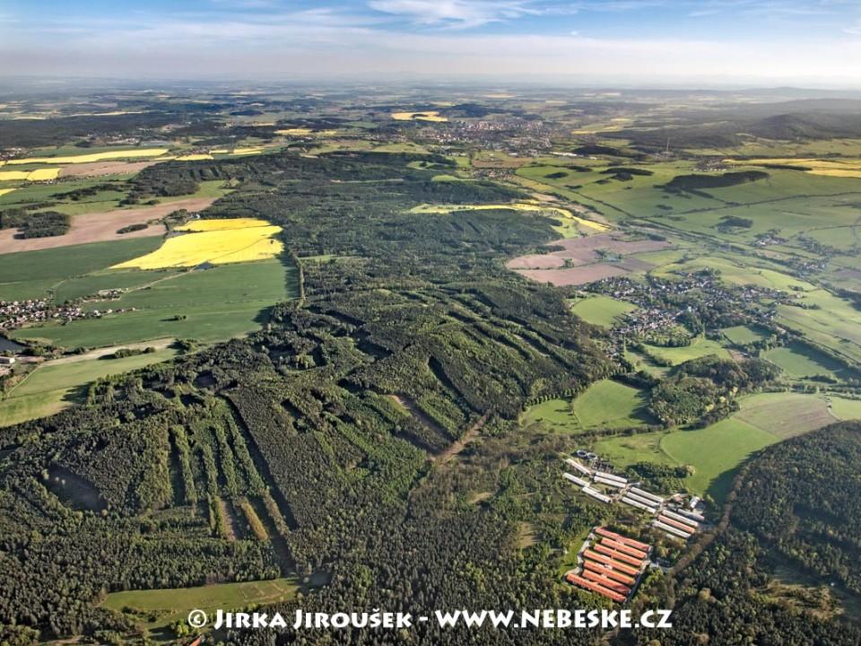 Brdy od Pičína a Hluboše na Příbram /J272