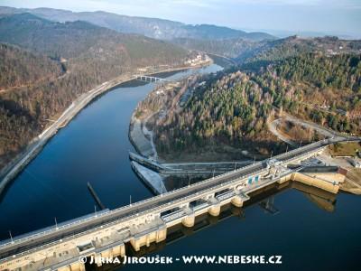 Orlík přehrada a Solenice /J685
