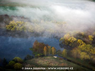 Rybník Strž ve Staré Huti u Dobříše /J812
