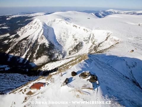 Sněžka s Obřím dolem, Luční a Studniční horou /J578